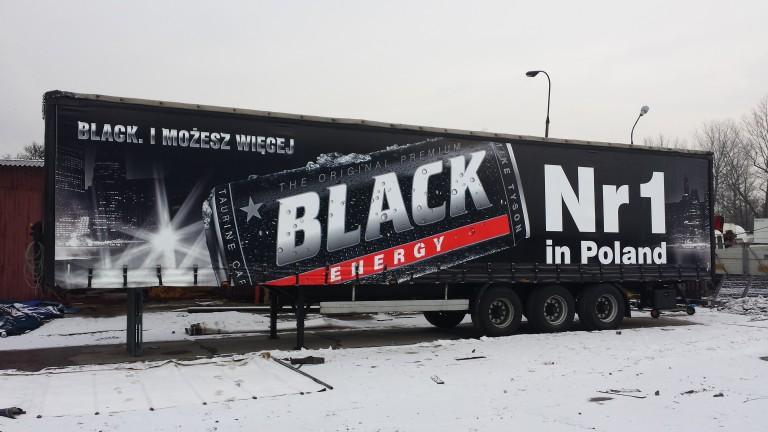 nadruk na plandece black